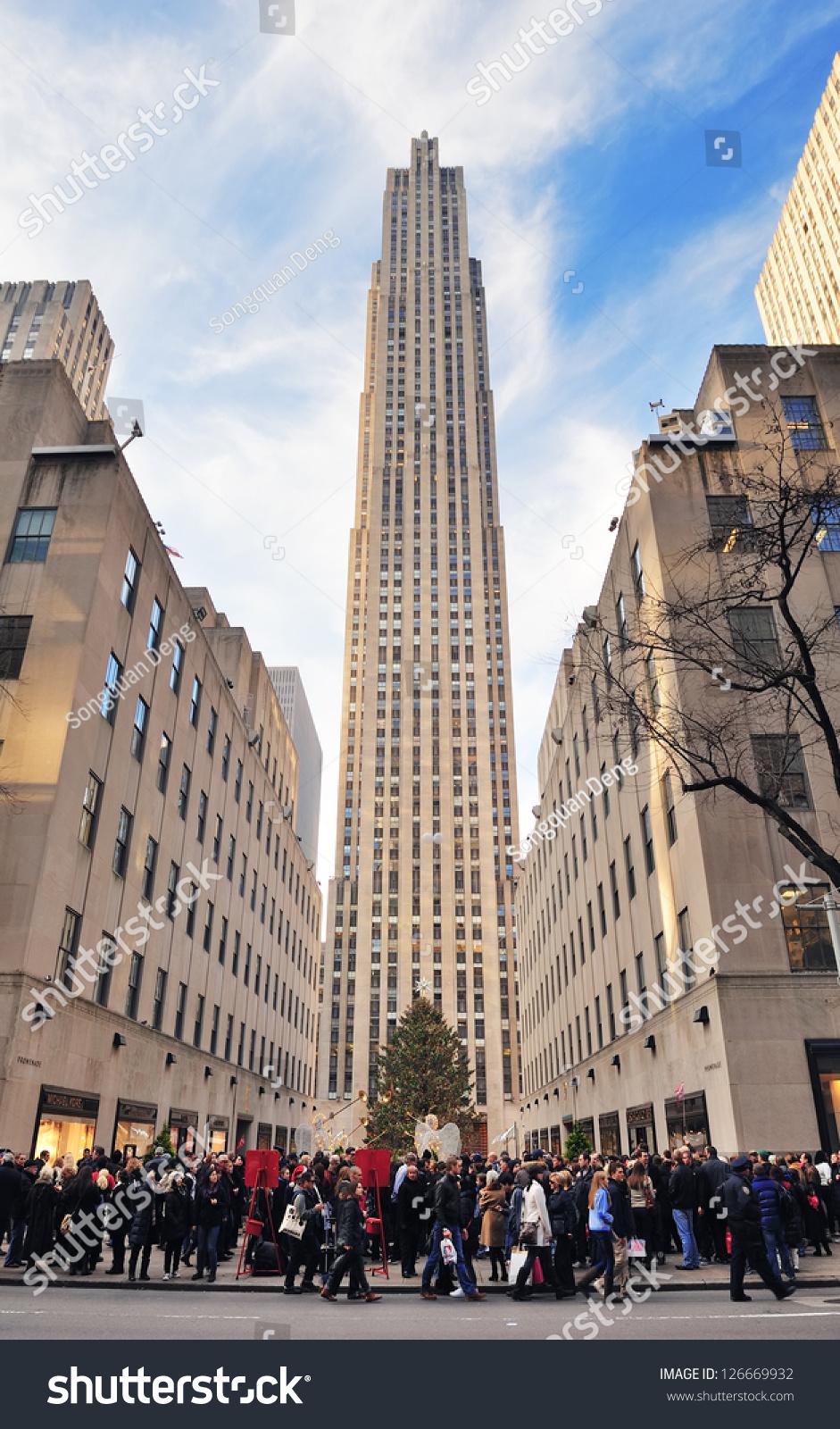 Dec 30: Rockefeller Center In The