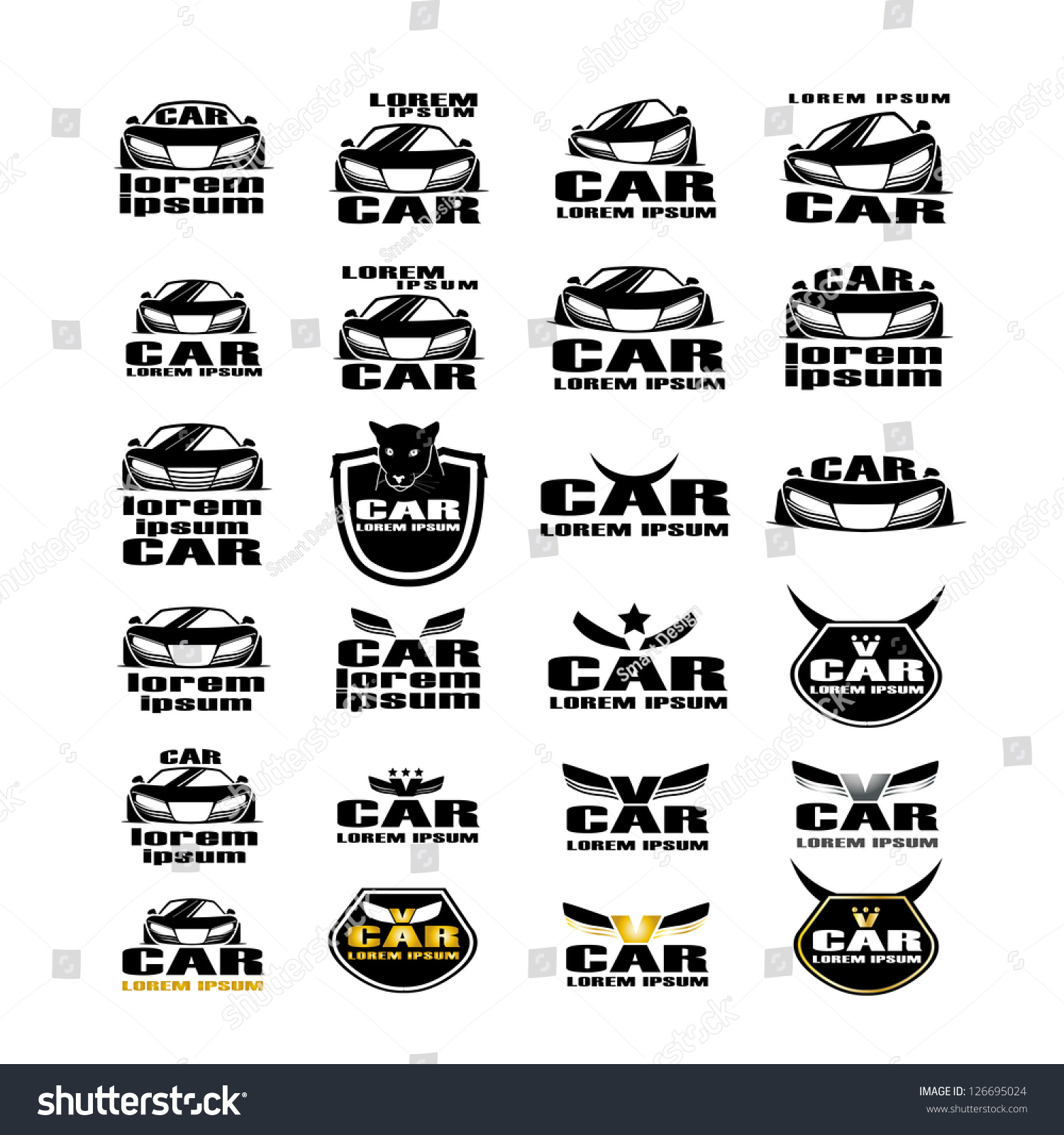 foreign car logo and names