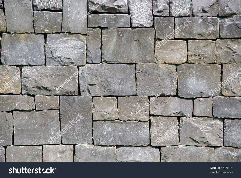 Granite Stone Blocks : Natural stone dressed cut into building lagerfoto