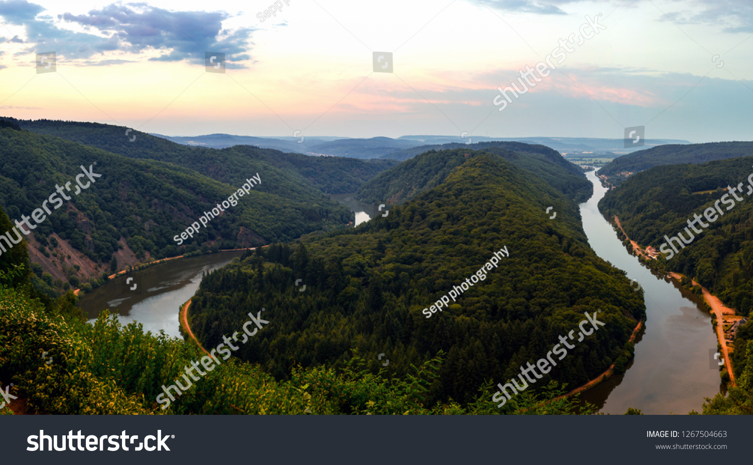 saar loop sunrise #1267504663