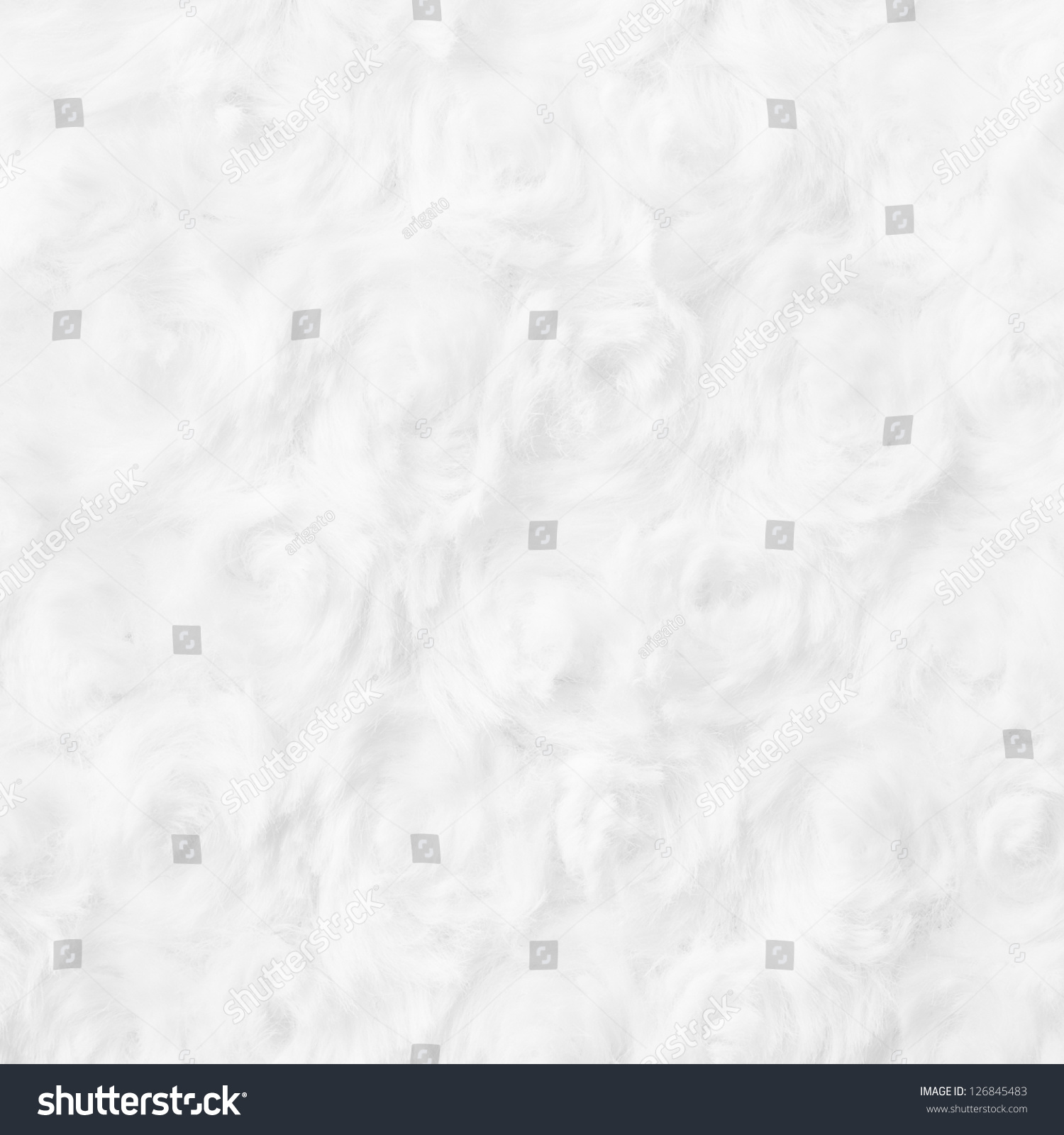 Smooth shaped white stones surface texture background stock photo - Rose Shaped Cotton Wool Texture Background