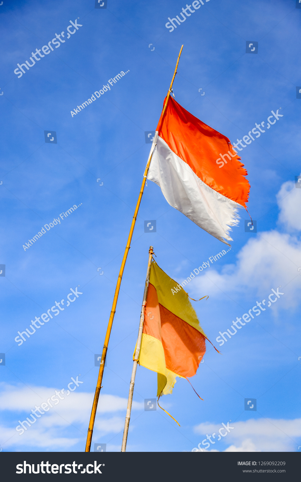 bendera merah putih indonesian national flag stock photo edit now 1269092209 shutterstock