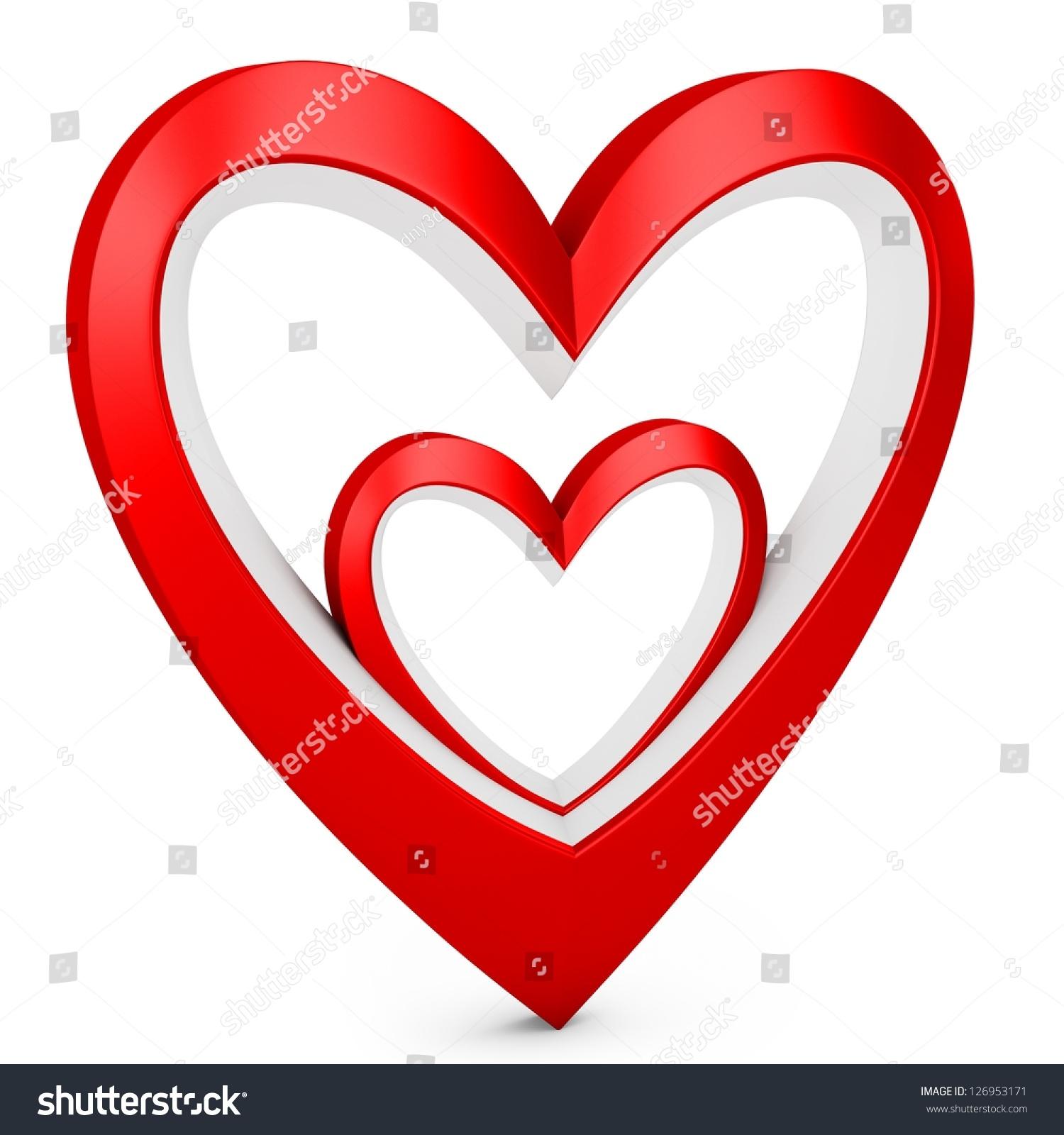 3d heart logo