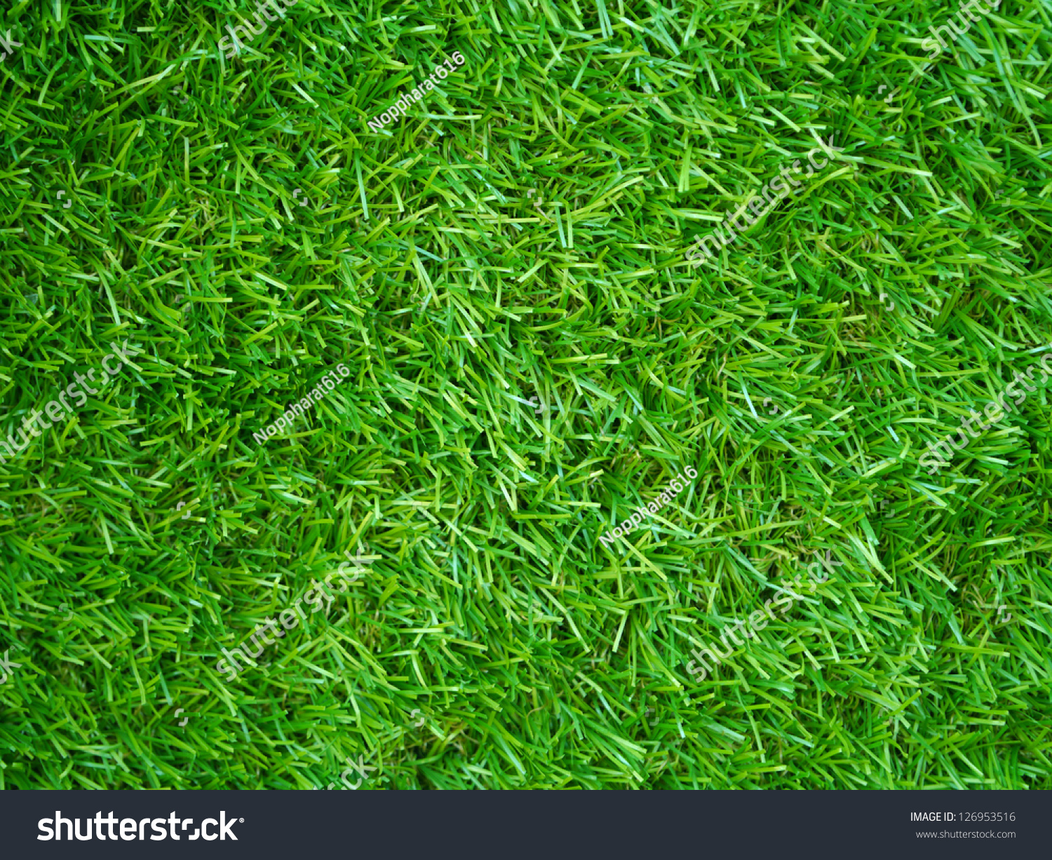 Artificial Grass Field Top View Texture Stock Photo