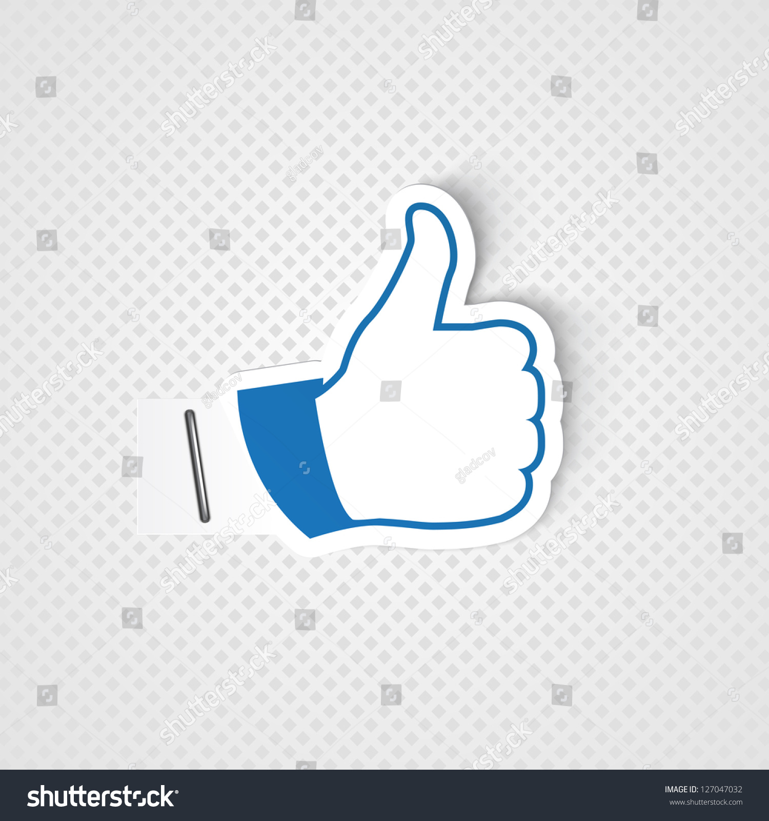 Like symbol stock vector 127047032 shutterstock like symbol buycottarizona Choice Image