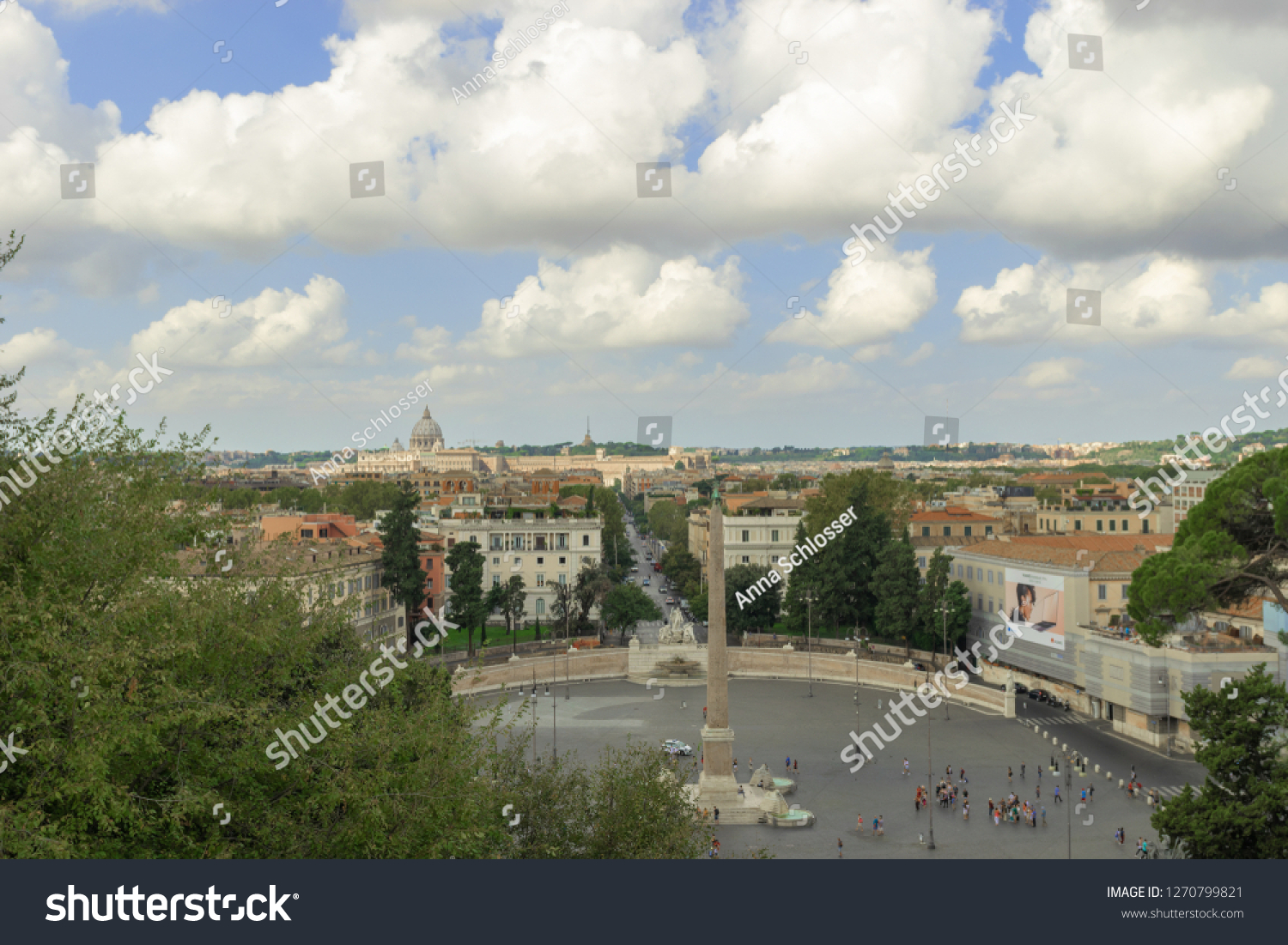 Rome Italy August 31 2018 View Stock Photo Edit Now 1270799821