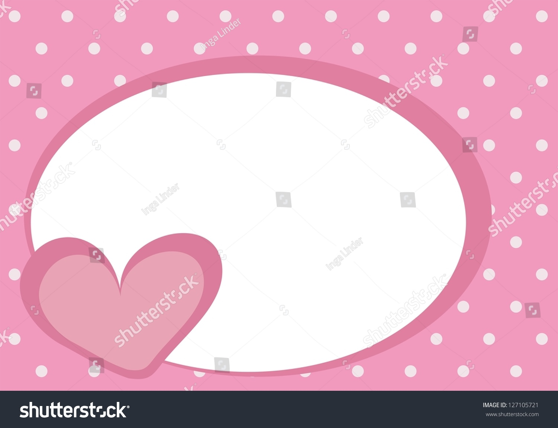 Valentines Vector Card Baby Shower Invitation Stock Vector (2018 ...