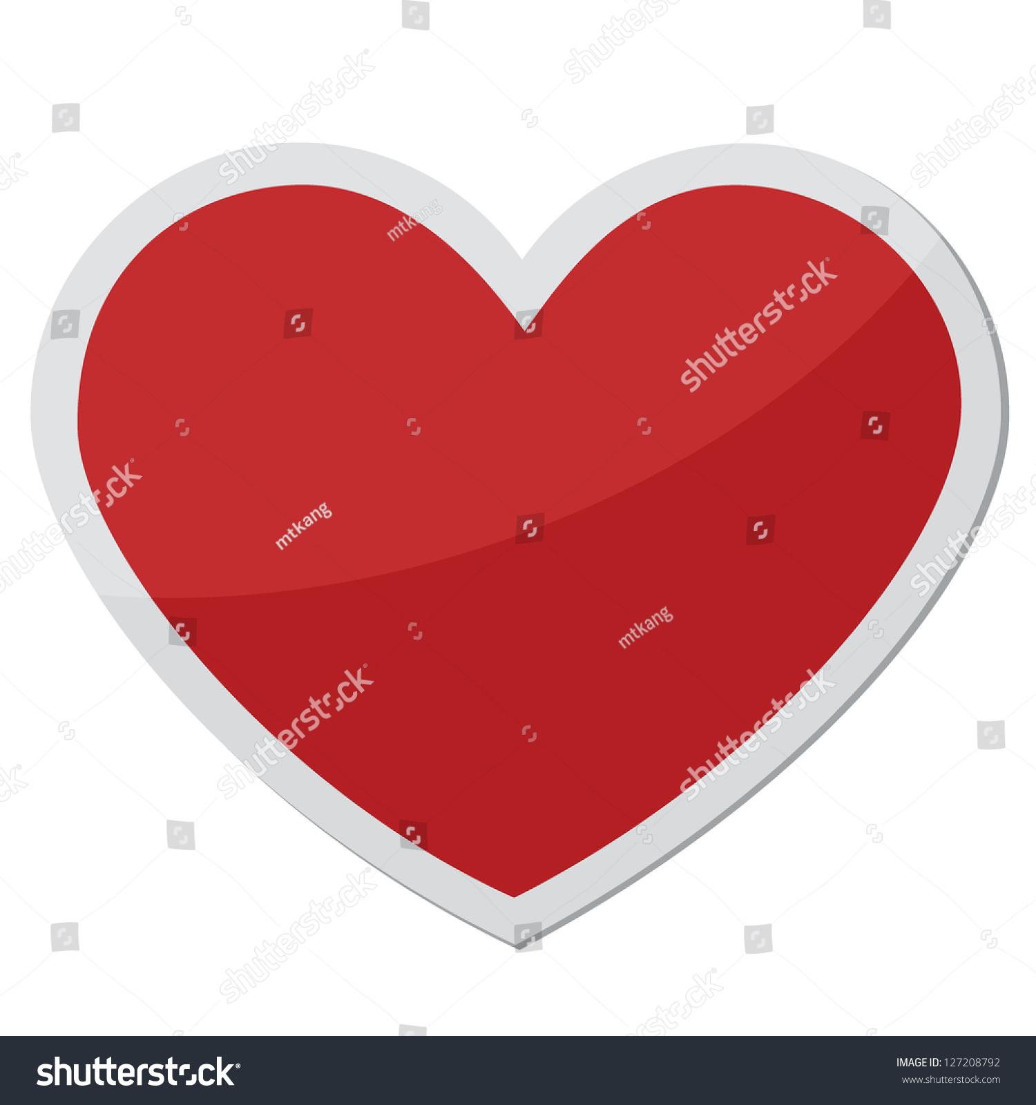 Heart shape design love symbols stock vector 127208792 shutterstock heart shape design for love symbols buycottarizona Gallery