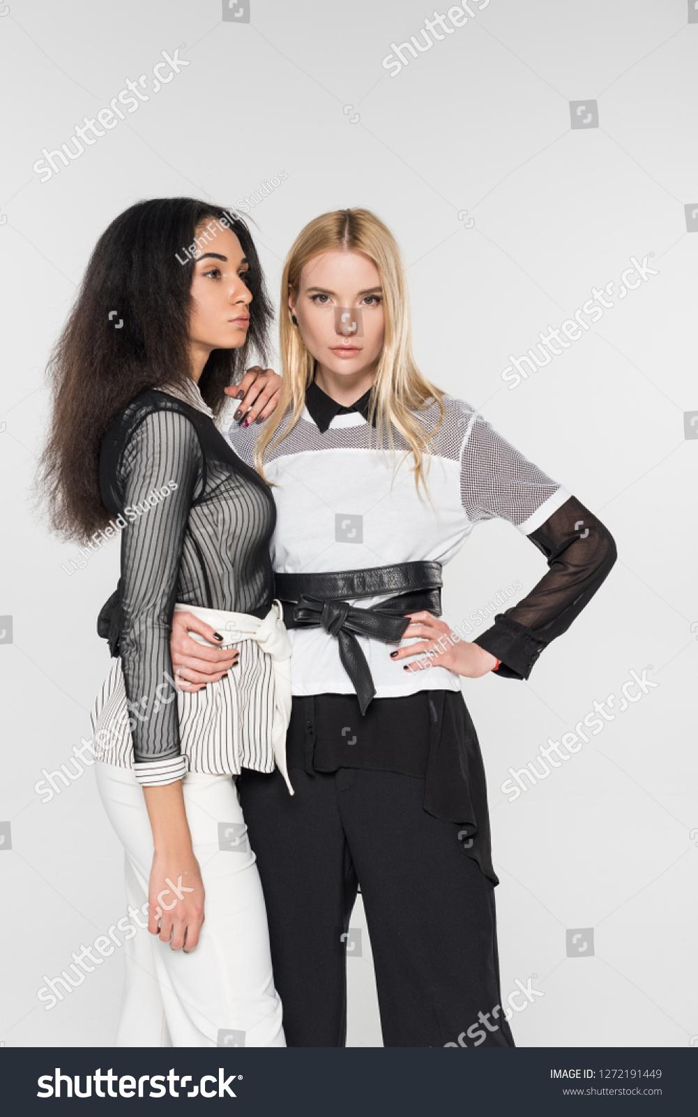 black and white interracial lesben