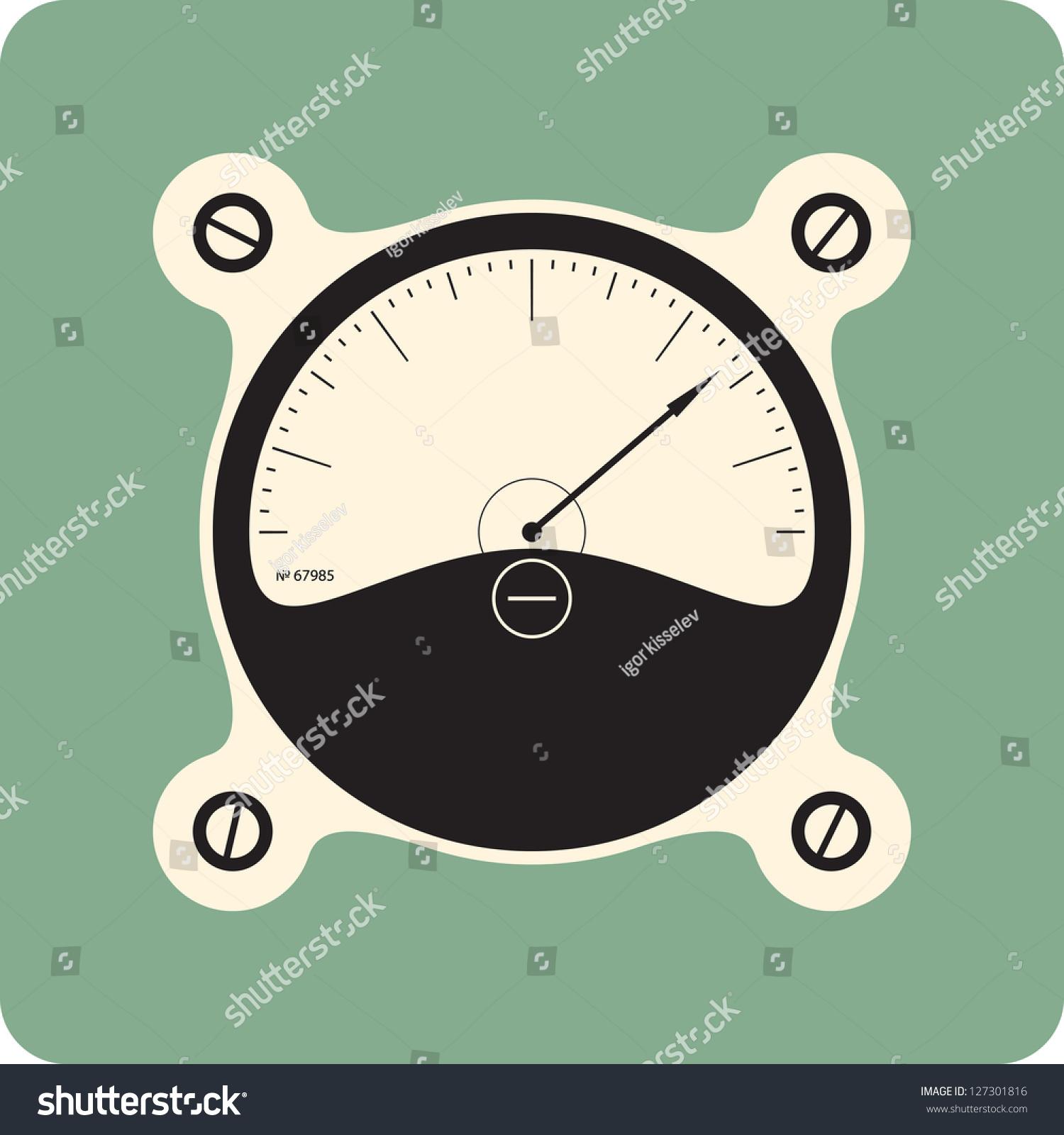 Analog Meter Background : Analog meter dial stock vector shutterstock