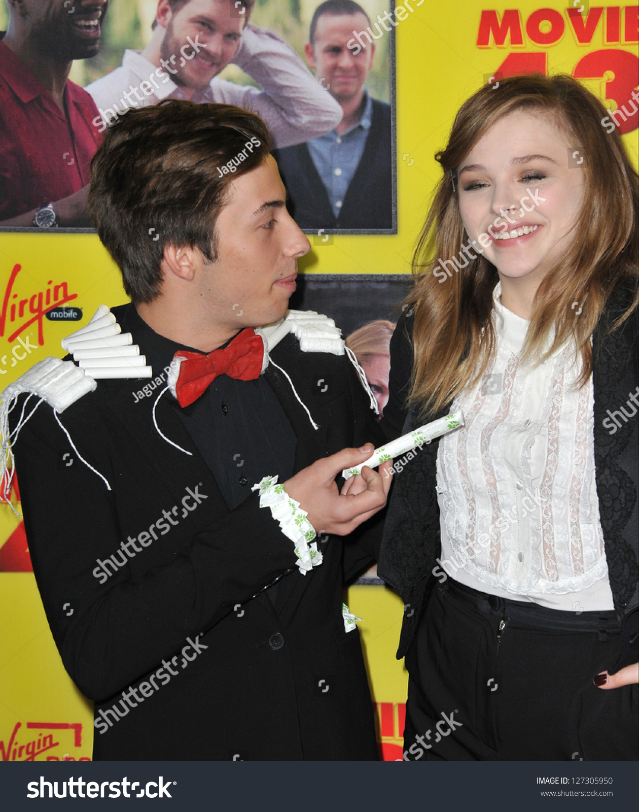 Jimmy Bennett and Chloe Grace Moretz Photos Photos ... |Chloe Grace Moretz And Jimmy Bennett