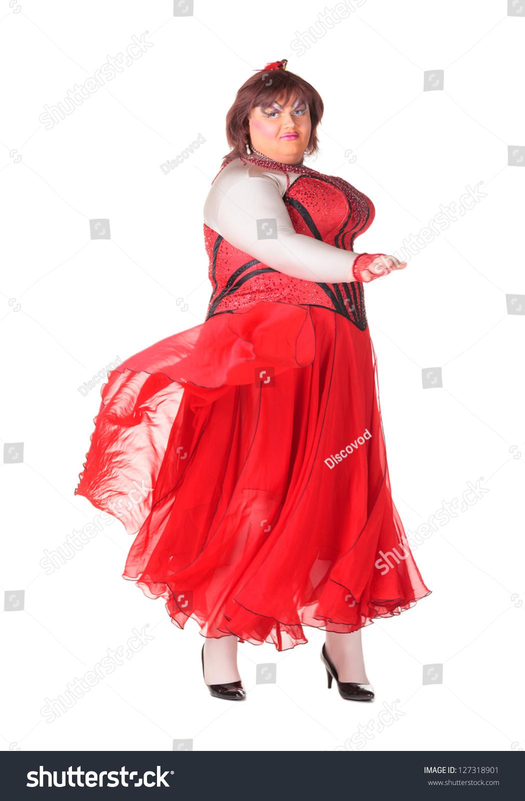 Бабы в платье