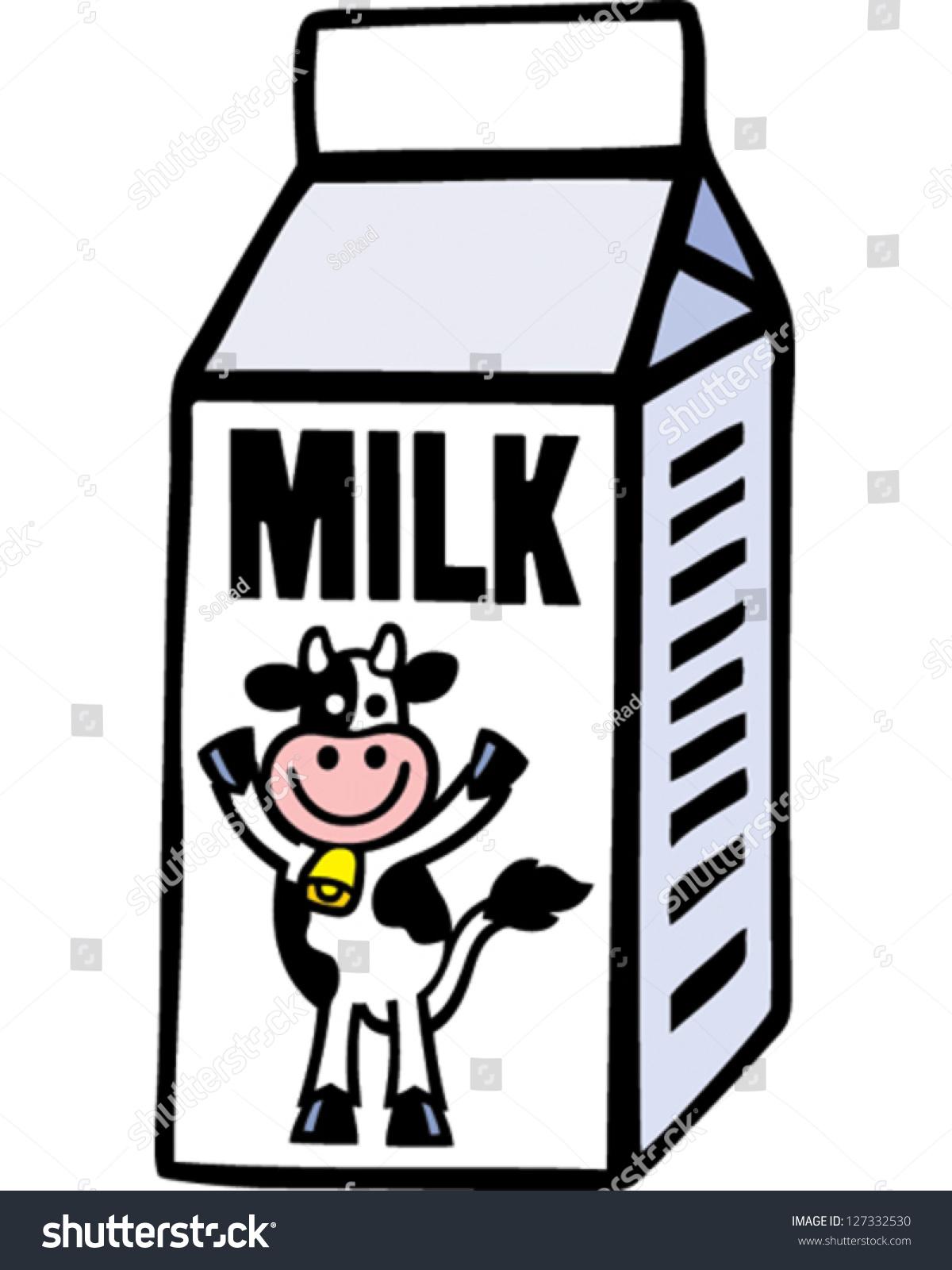 milk carton stock vector 127332530 shutterstock