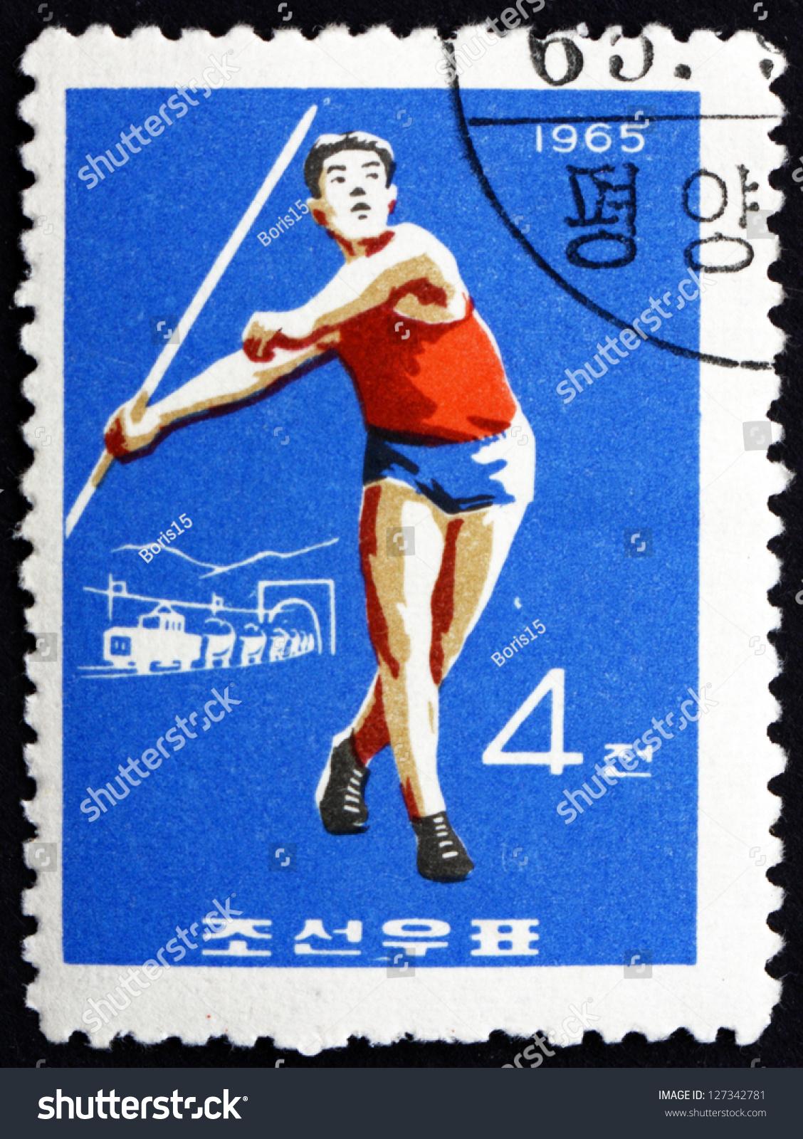 North Korea Circa 1965 Stamp Printed Stock Photo 127342781 ...