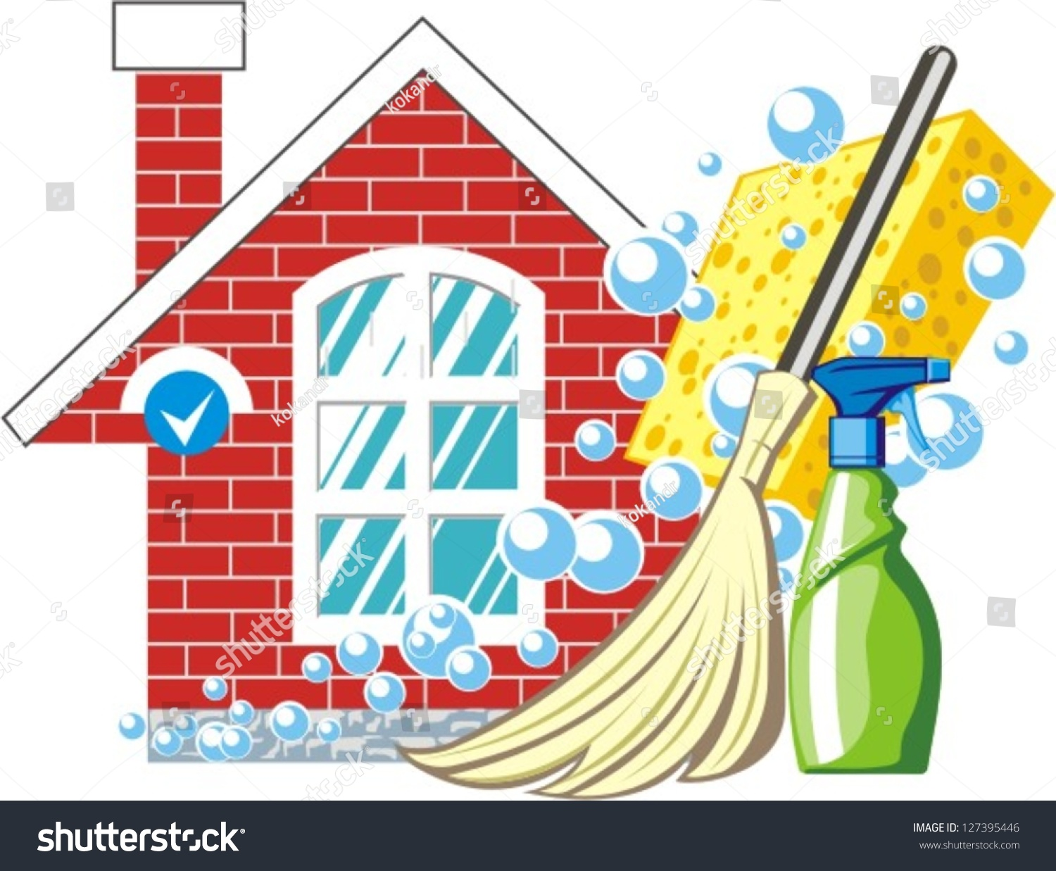 House cleaning supplies clip art house cleaning stock vectors amp vector