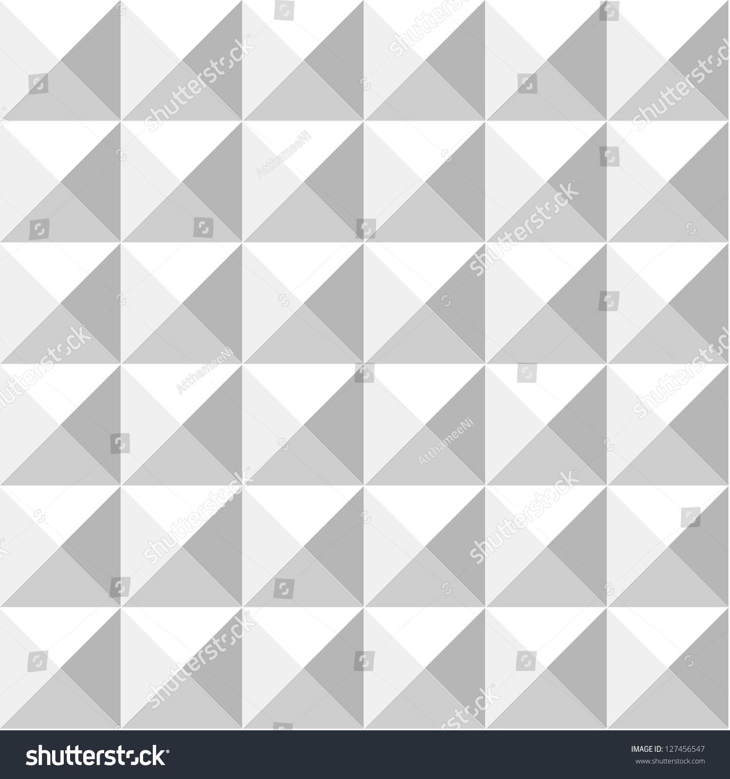 Abstract Graphic Pyramid Pattern Design ภาพประกอบสต็อก 127456547 ...
