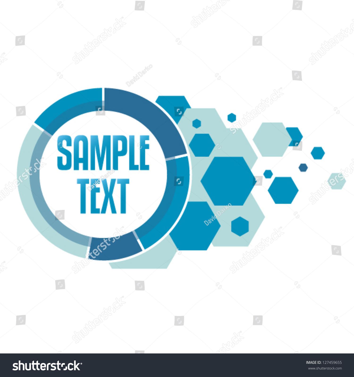 tech logo template editable can be stock vector royalty free