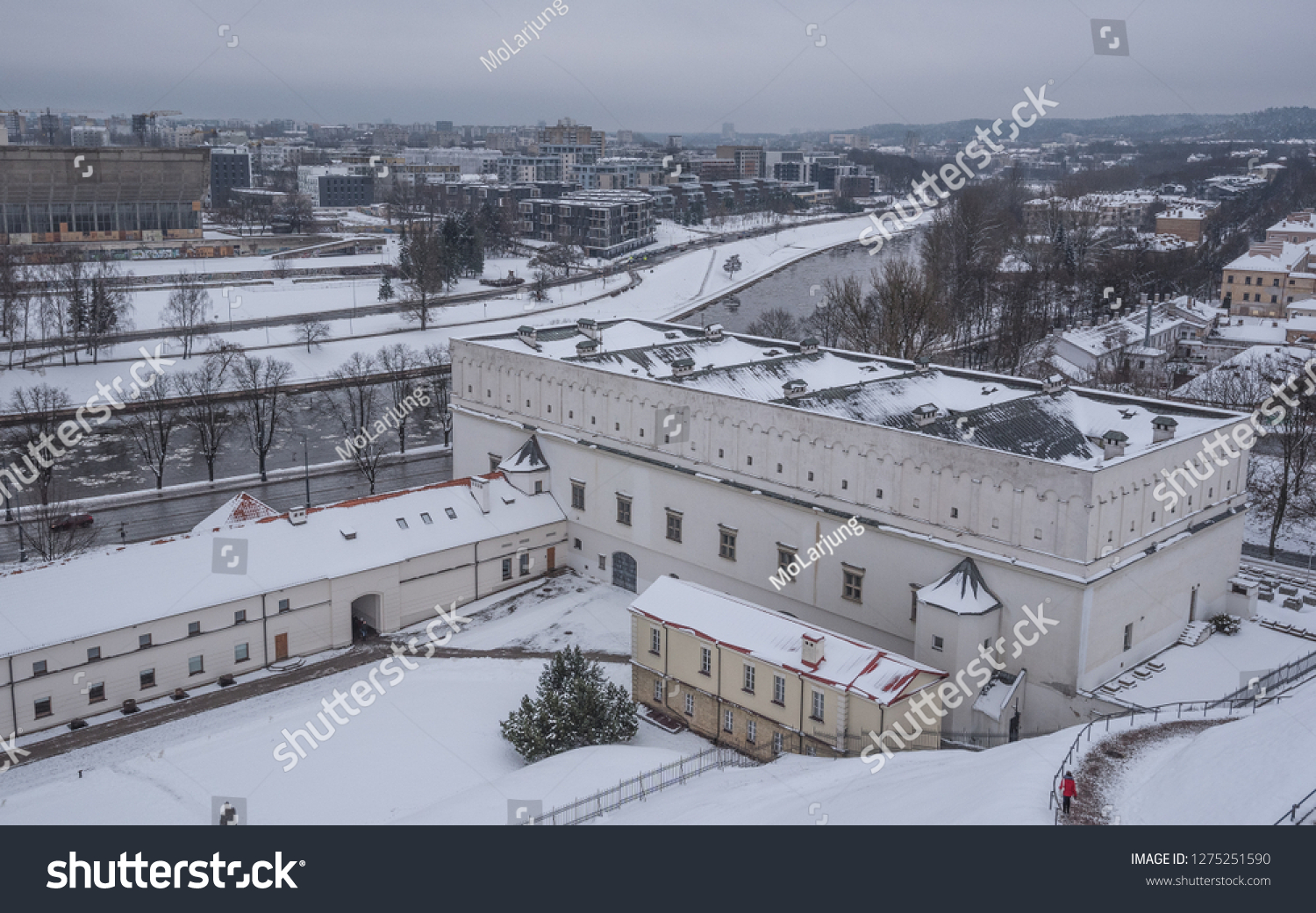 Winter View Lithuanian National Museum Museum Stock Photo Edit Now 1275251590