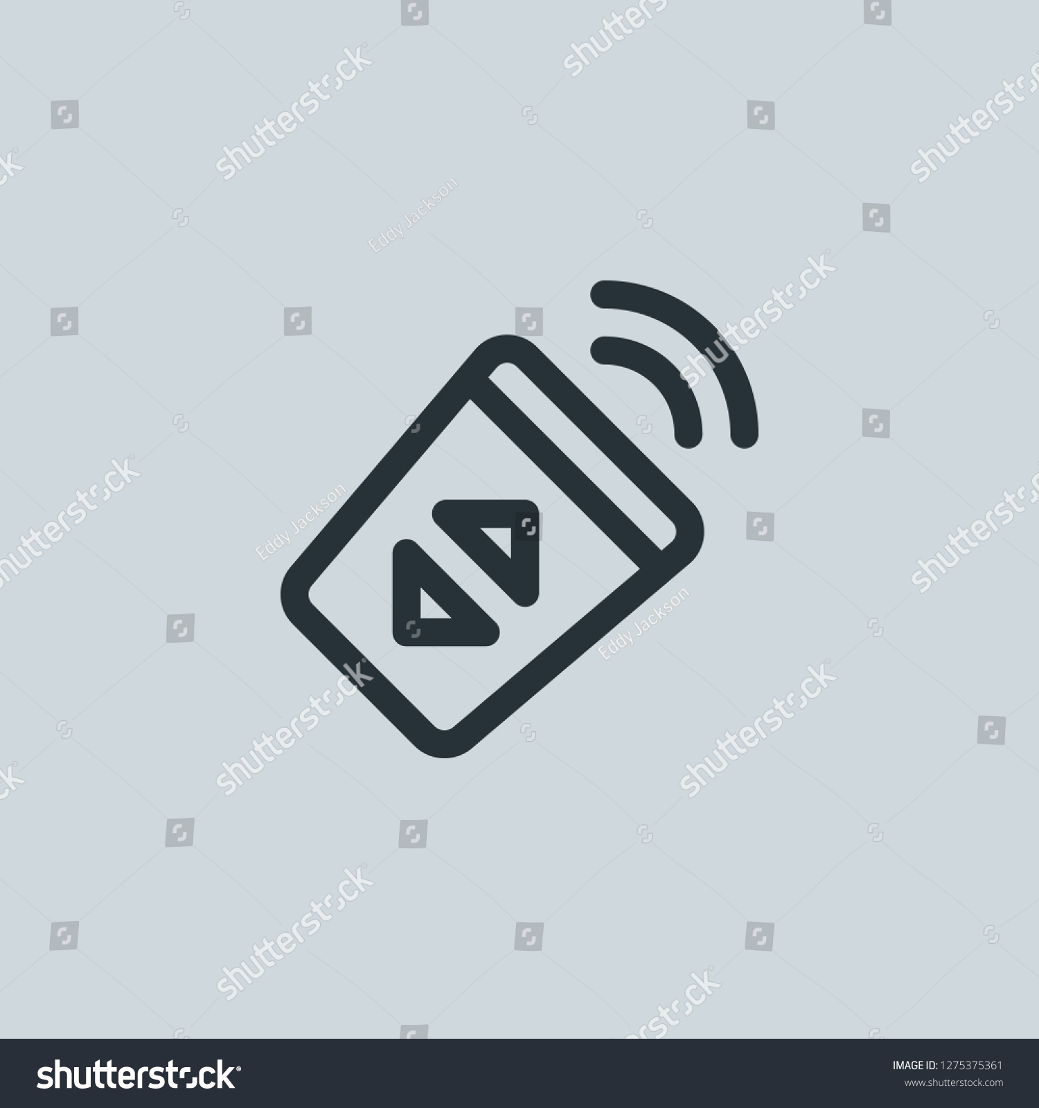 Outline Infrared Vector Icon Infrared Illustration Stock Vector