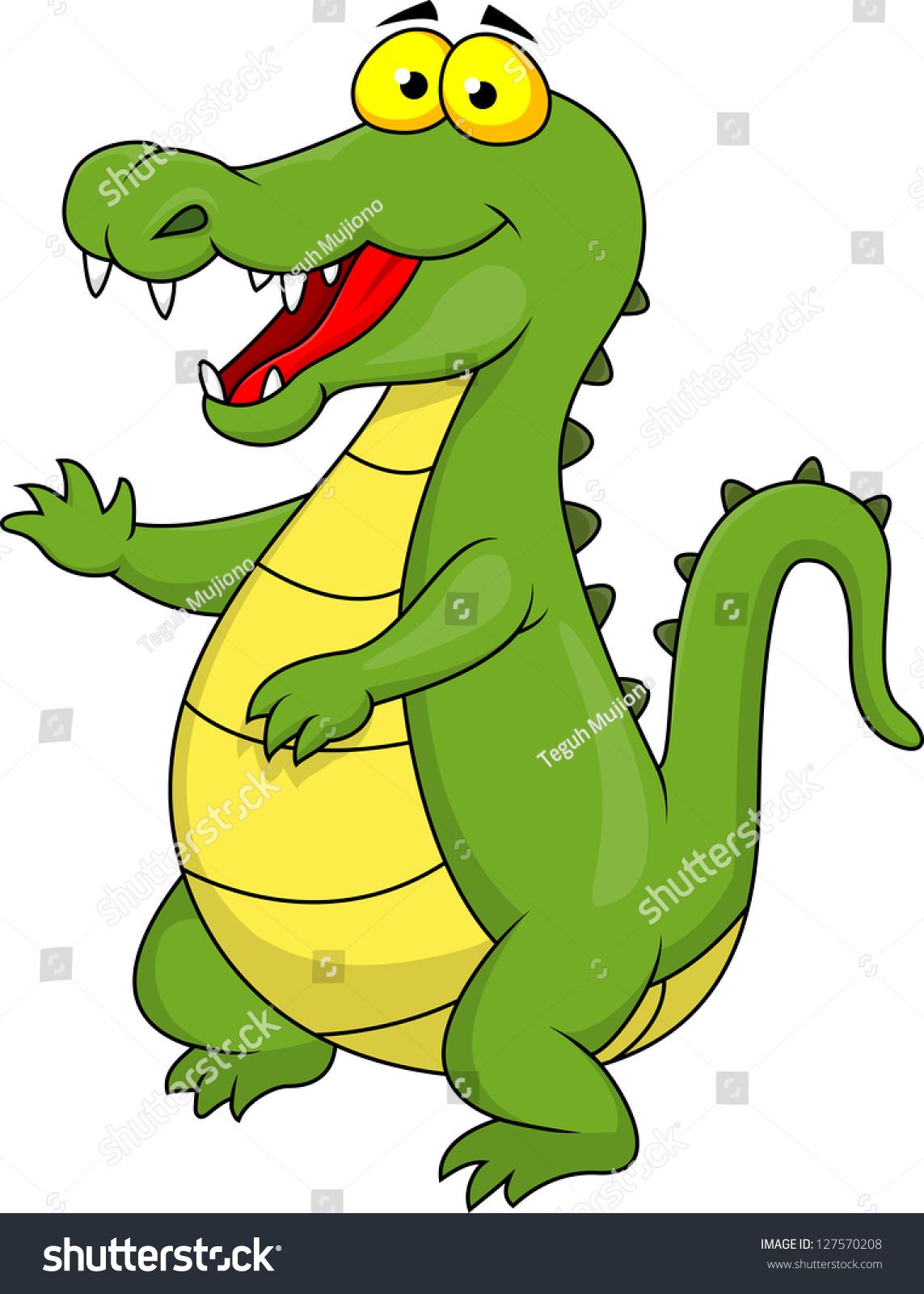 Crocodile Cartoon Stock Illustration 127570208 - Shutterstock - photo#7