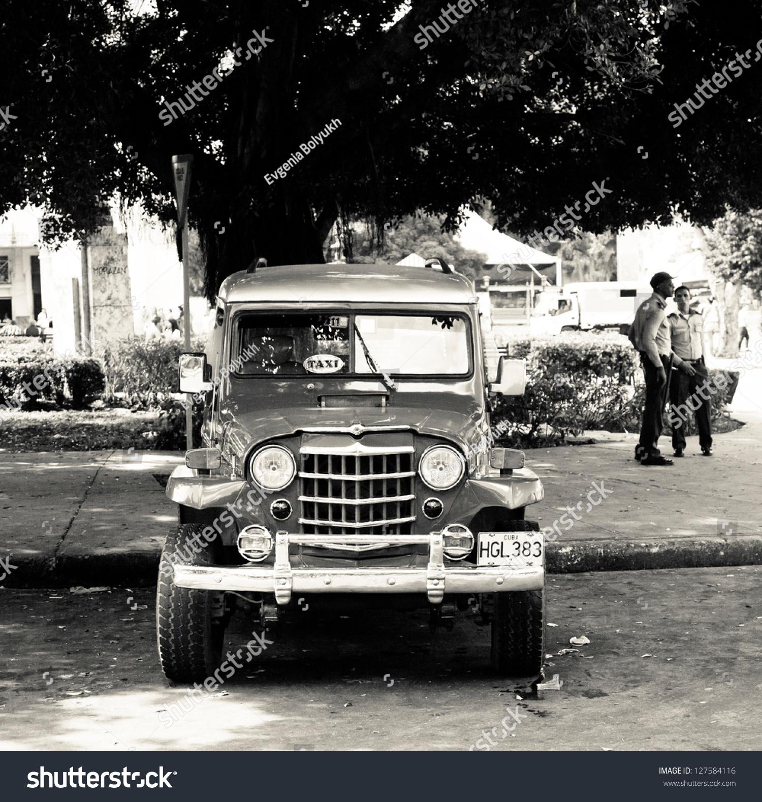 Havana Cuba Dec 30 Old Classic Stock Photo 127584116 - Shutterstock