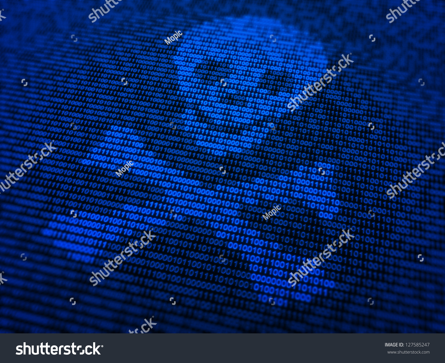 Or Photo Of Circuit Board Skinned Human Close Up And Binary Code Internet Security Malware Concept Illustration Skull Stock A Bones Symbol Made Out