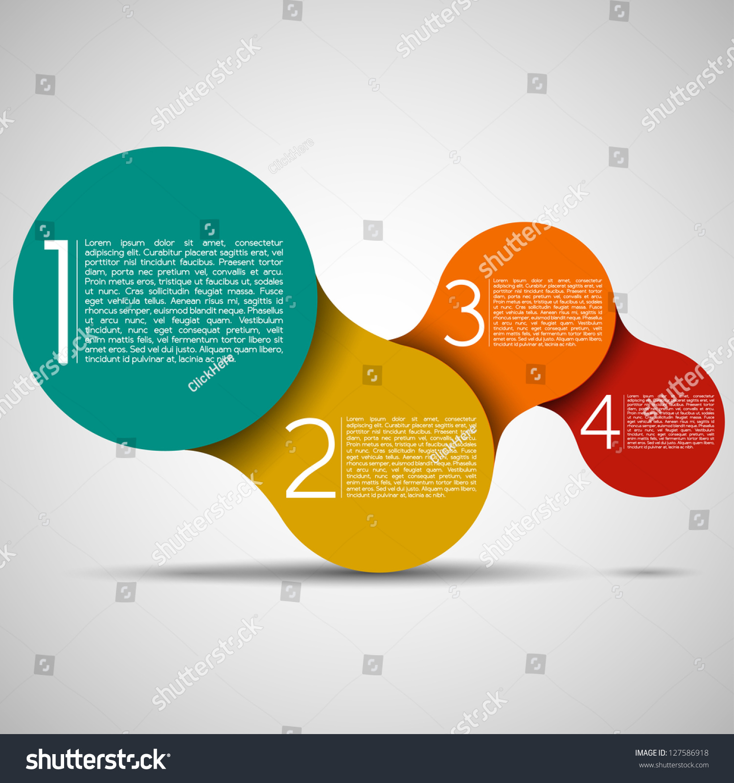 modern design layout eps10 vector stock vector 127586918