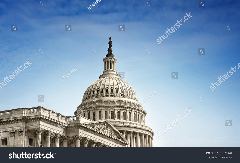 US Capitol Map Washington Dc Stock Photo (Edit Now) 1276531378 ...