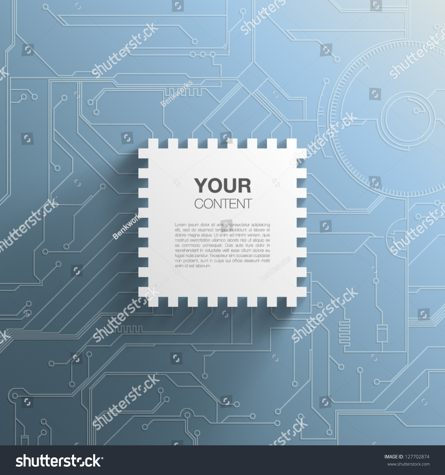 Trendy 3 D Microchip Design Transparent Shadow Stock Vector Royalty Printed Circuit Board Photos Images Pictures Shutterstock 3d With And Detailed Background