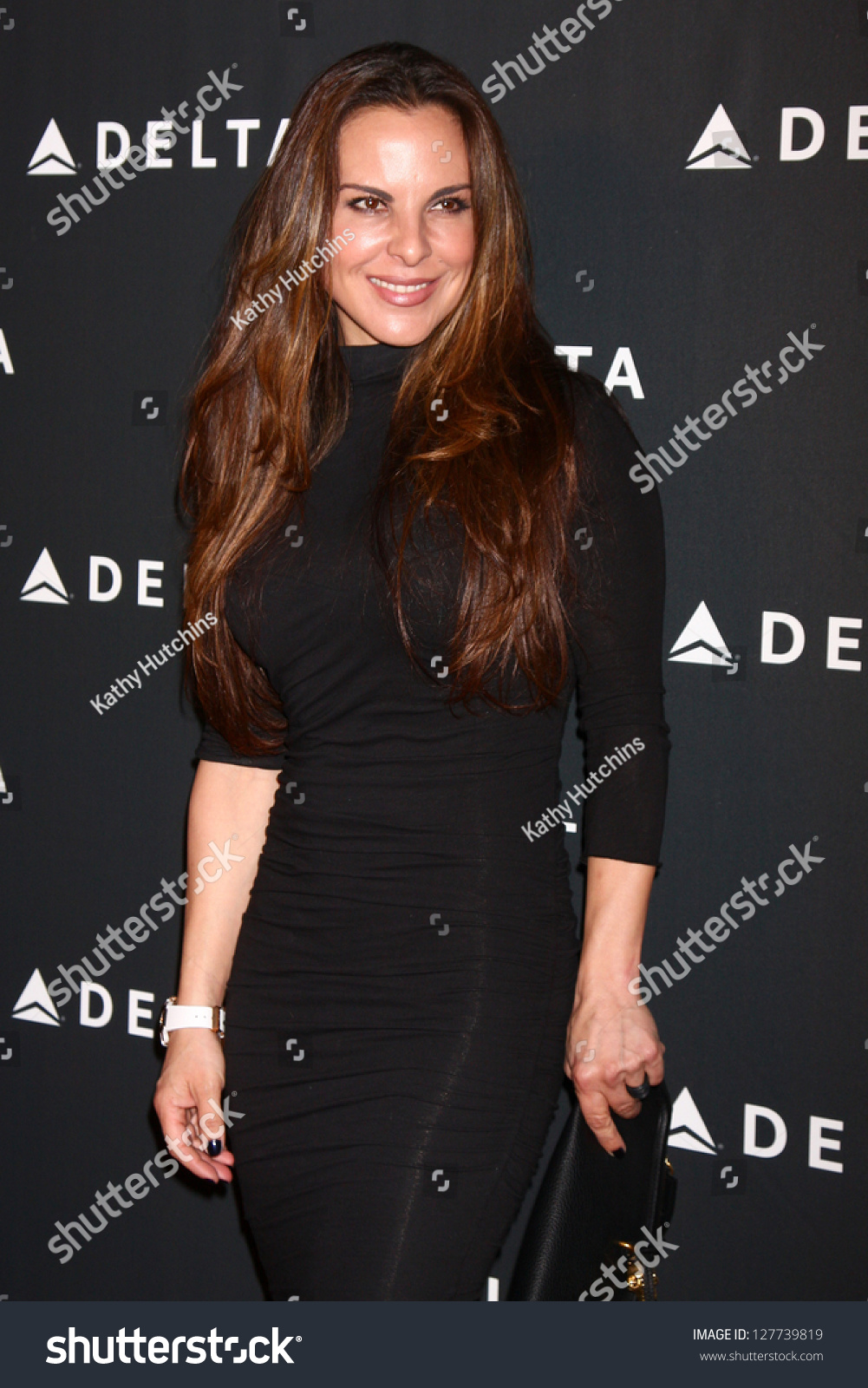 photo Kate del castillo arriving to appear on good morning america in nyc
