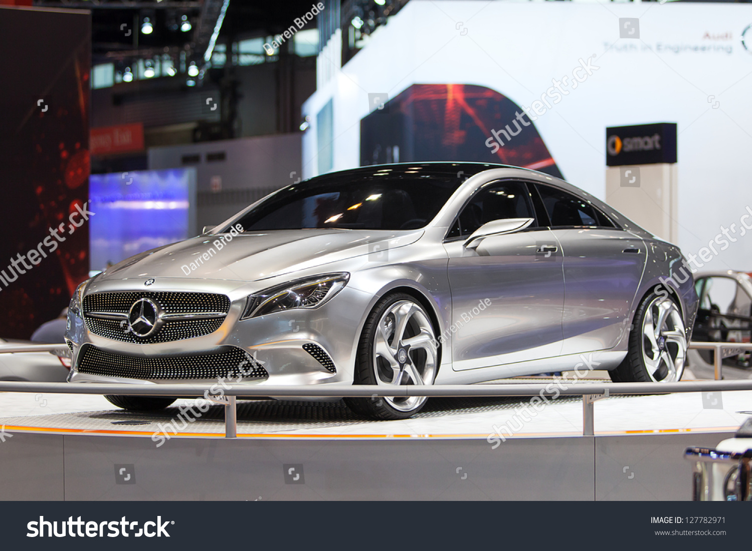 Mercedes concept car chicago auto show - Mercedes car show ...