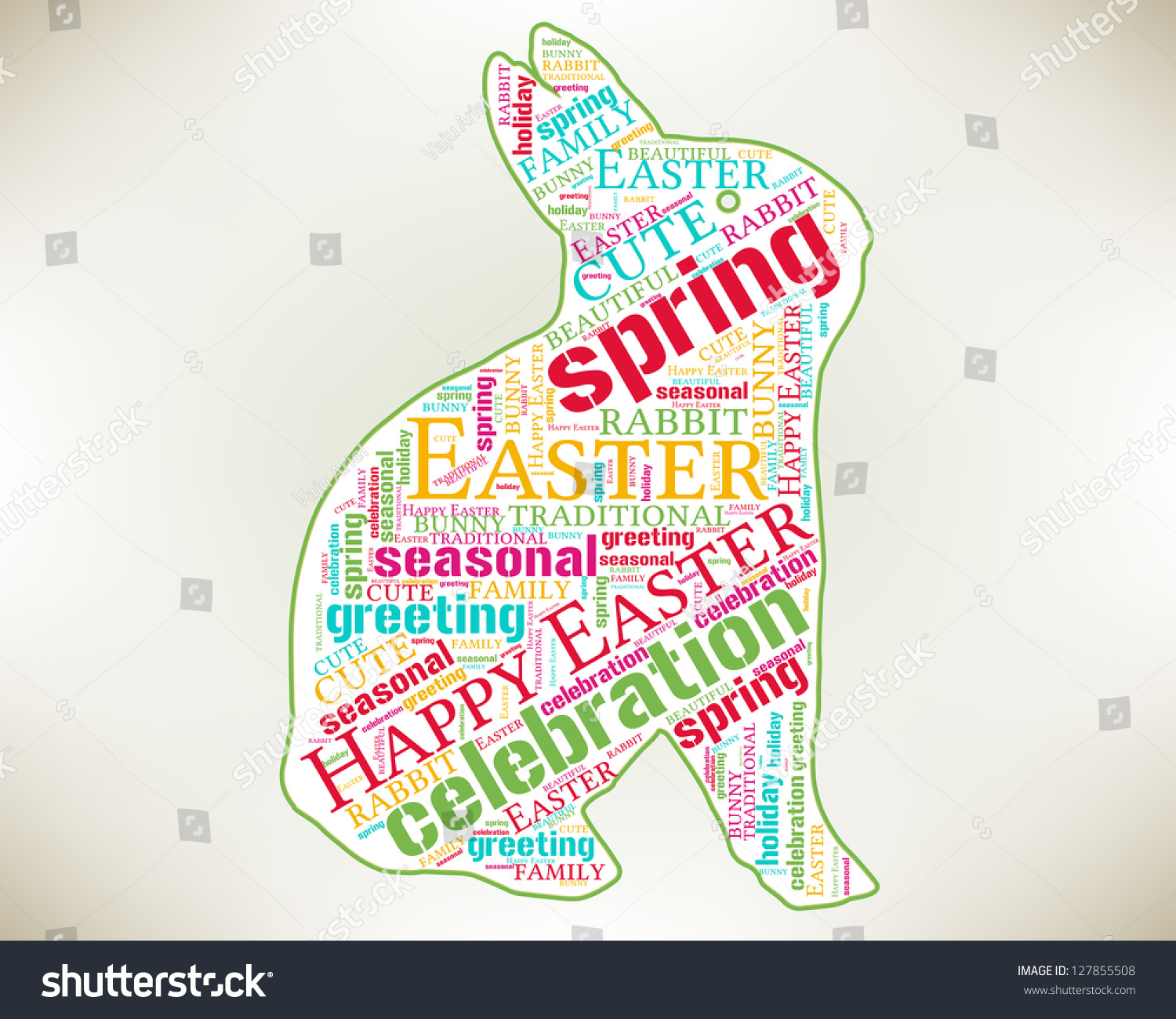 Happy easter word cloud concept bunny stock illustration 127855508 happy easter word cloud concept with bunny rabbit silhouette season greetings word cloud tag m4hsunfo
