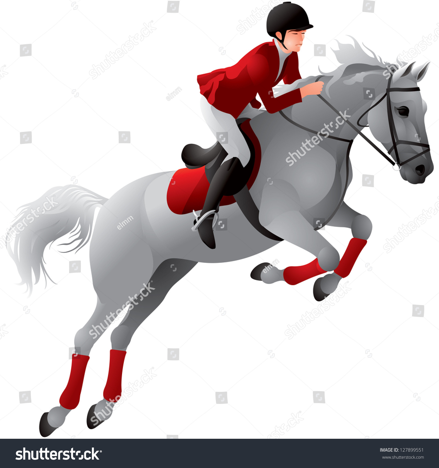Olympic equestrian uniform