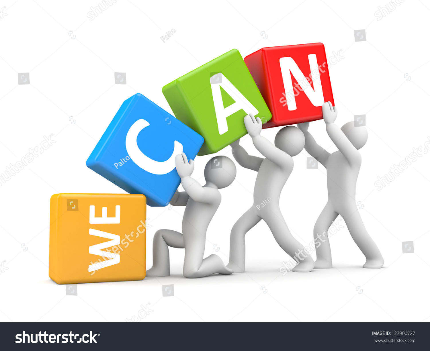 we canのイラスト素材 127900727 shutterstock