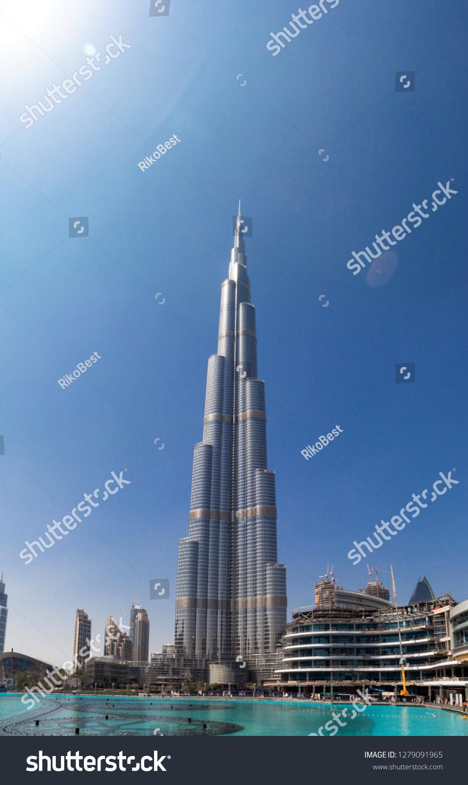 DUBAI UNITED ARAB EMIRATES 24 February Stock Photo (Edit Now