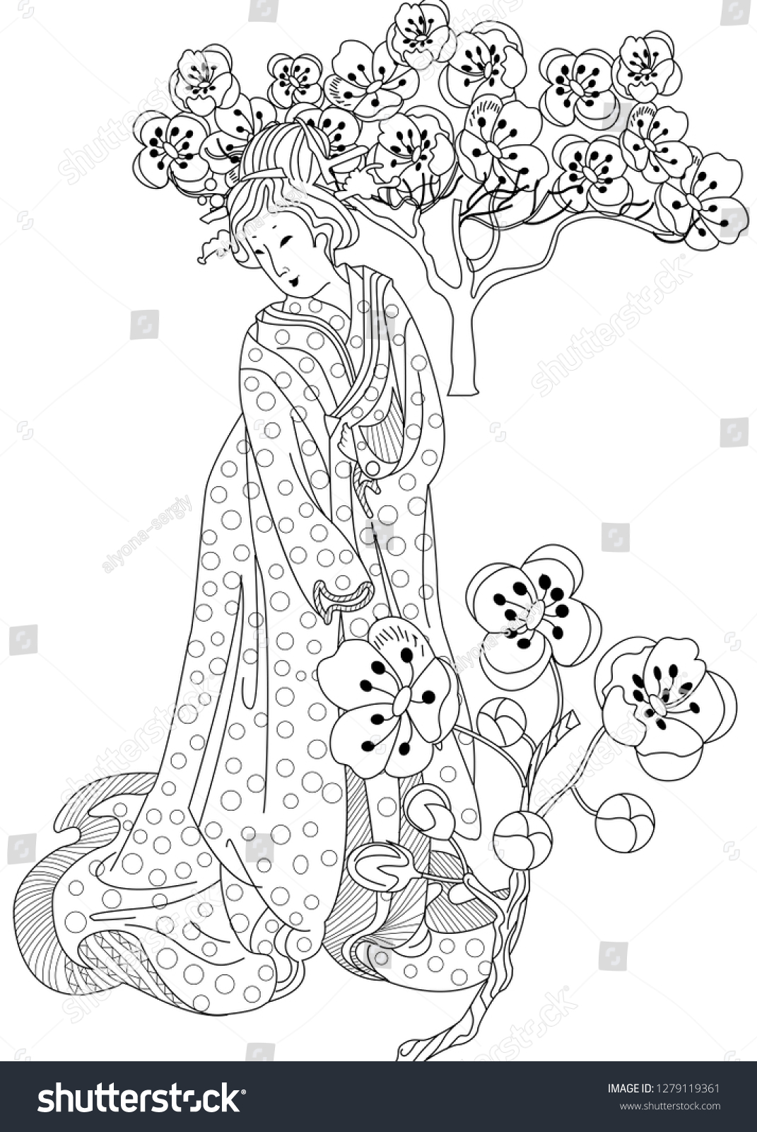 - Coloring Pages Coloring Book Children Adults Stock Vector (Royalty