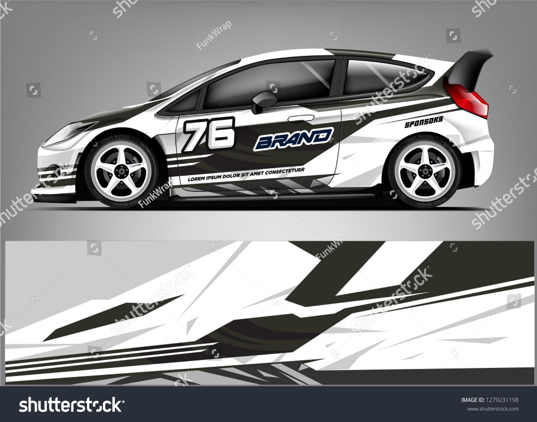 Racing car wrap design custom racing wrap design ready print sticker decal vinyl