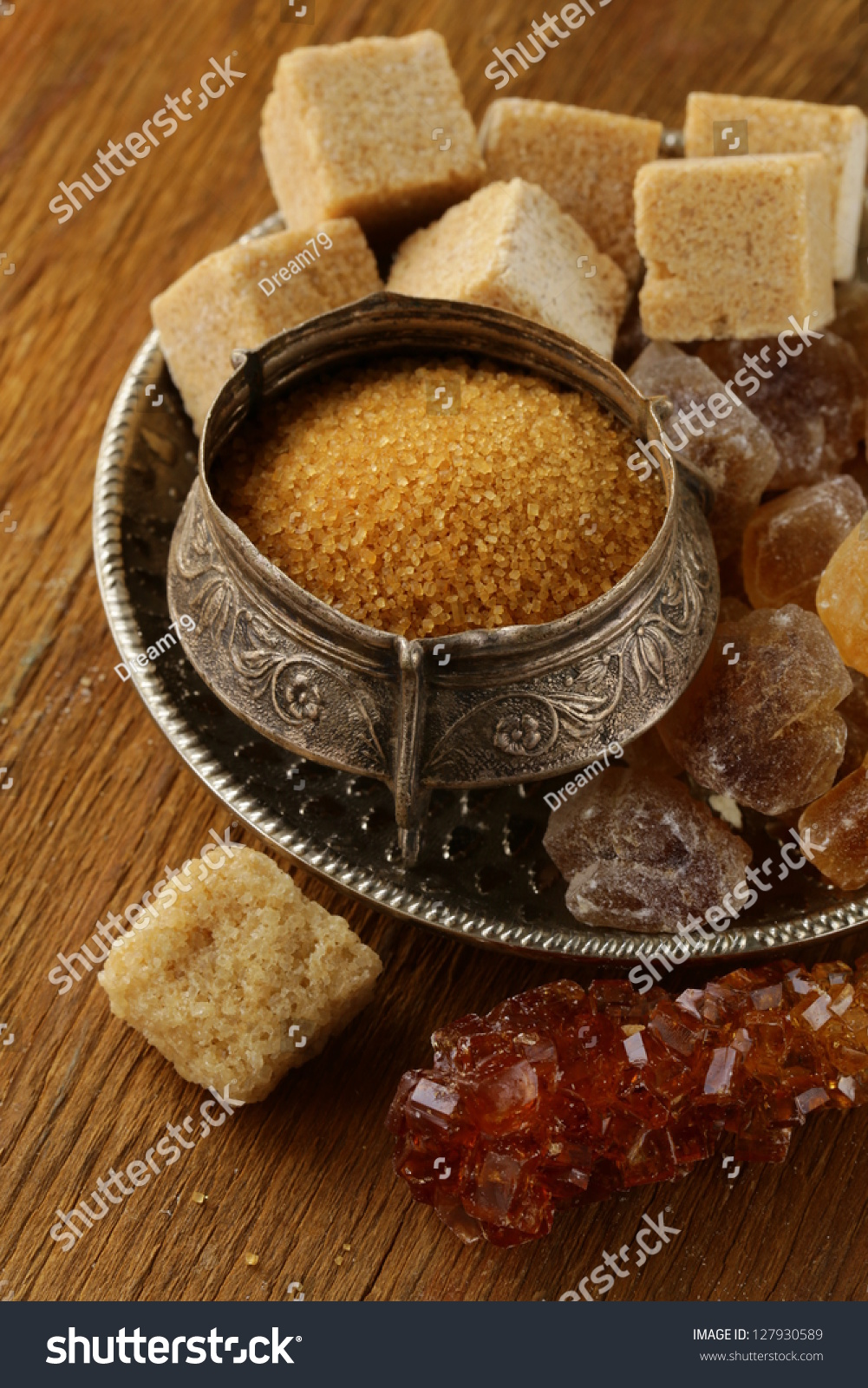 Different Types Of Brown Sugar Refined Crystals Sand