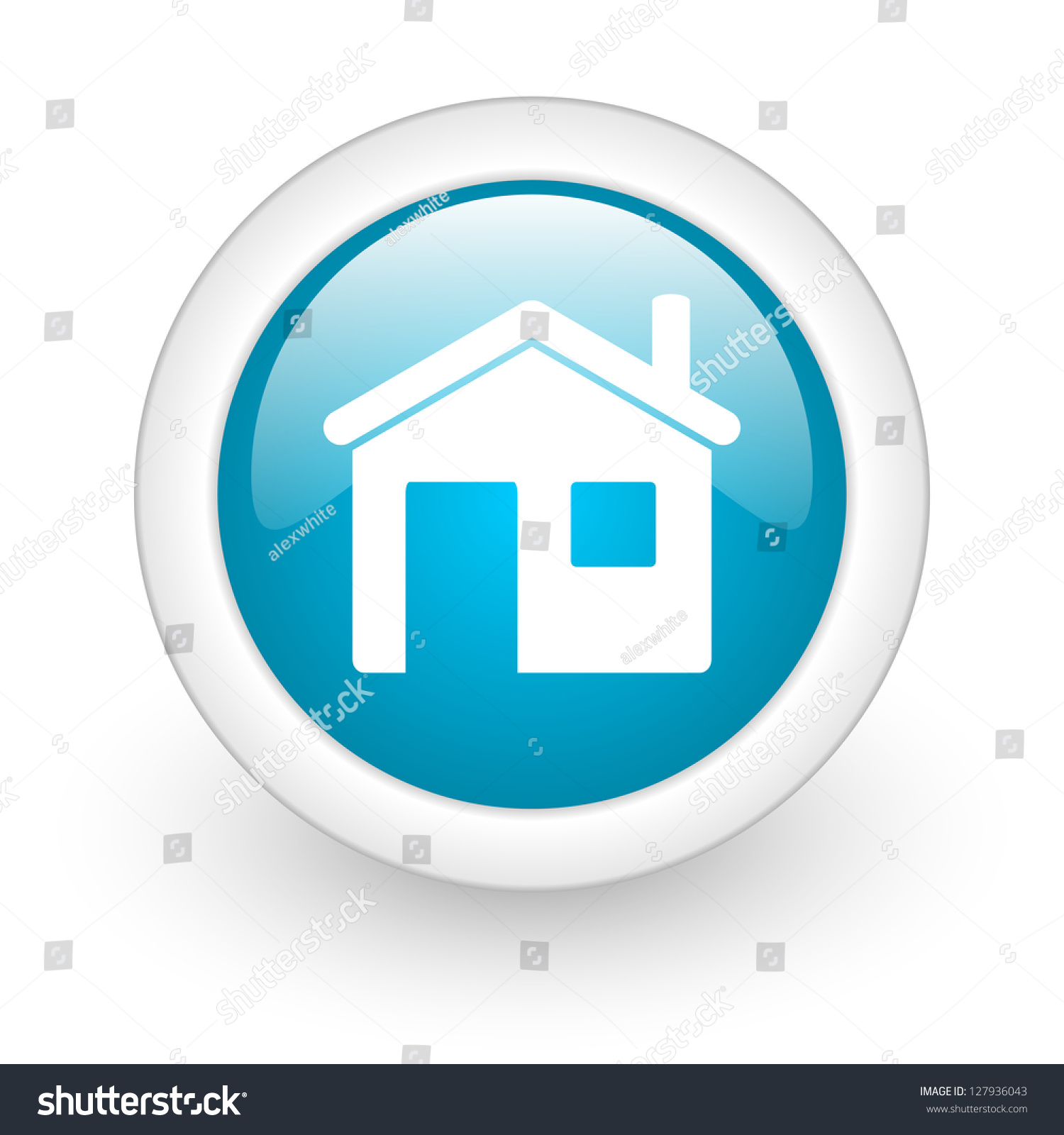 Website Home Icon Circle