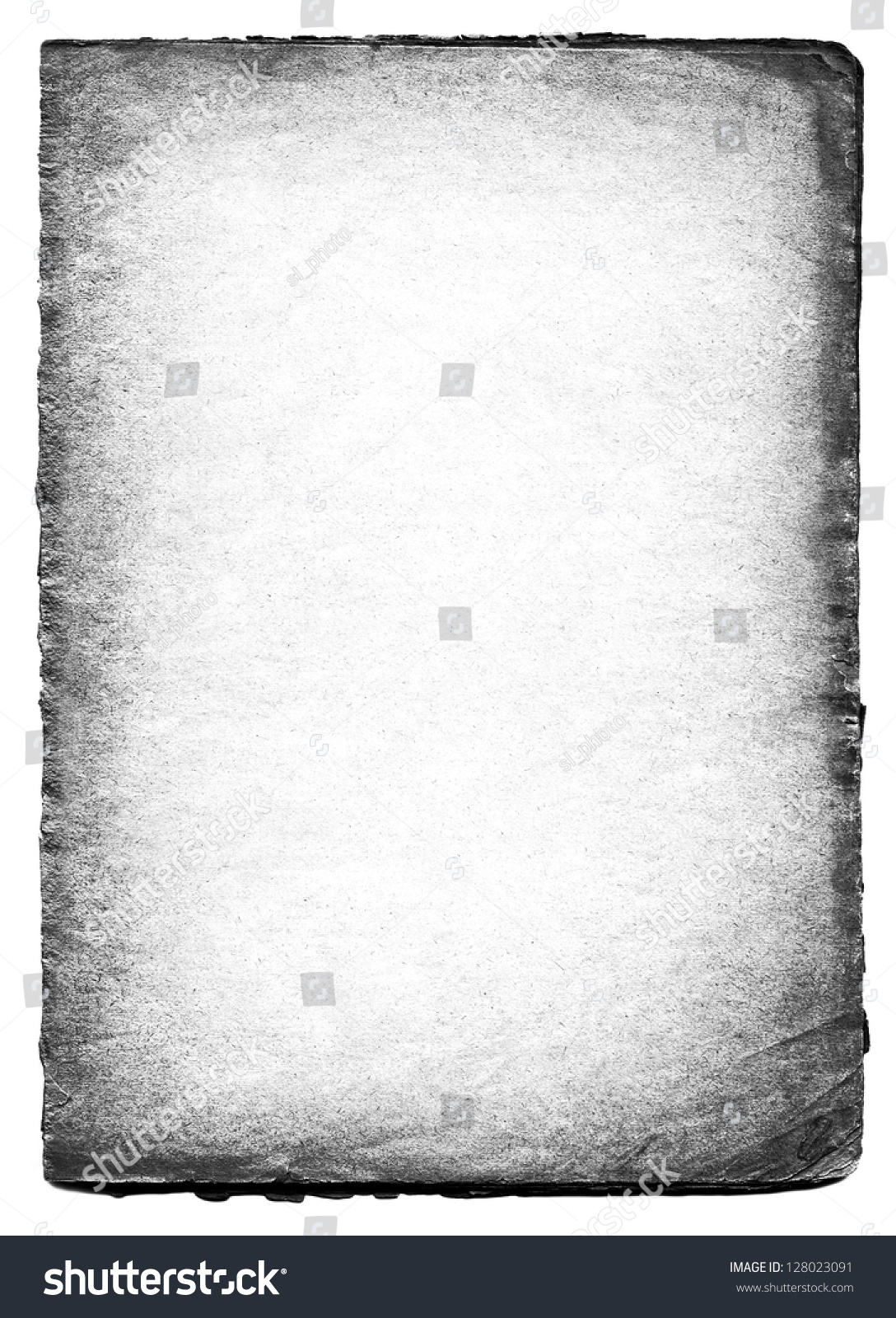 Black And White Old Paper Background