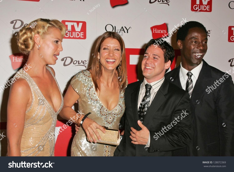 HOLLYWOOD AUGUST 27 Cast Greys Anatomy Stock Photo (Royalty Free ...