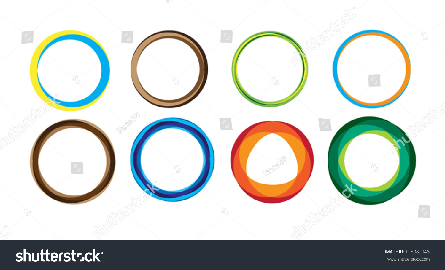 Geometric circle entwined wheels business abstract stock vector geometric circle entwined wheels business abstract icon as sign symbol logo biocorpaavc Images