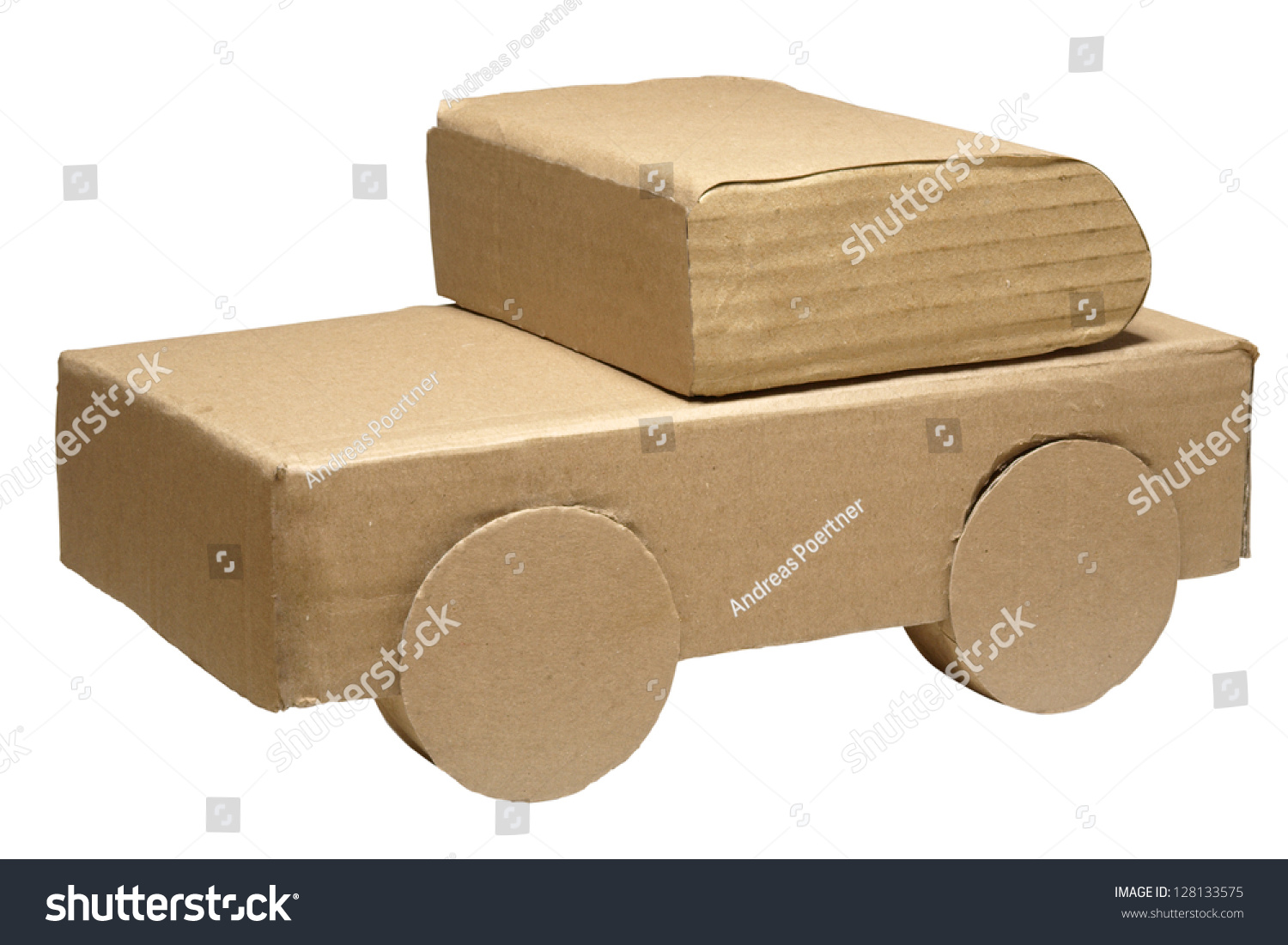 handmade insurance handmade car model concept car stock photo 6295