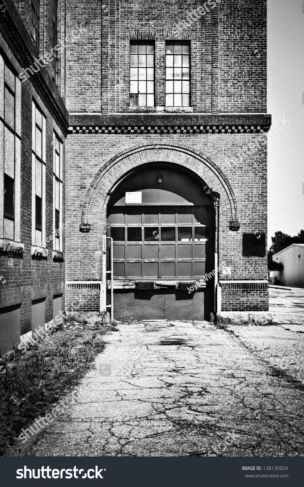 Urban Garage Door City Setting Stock Photo 128135024 Shutterstock