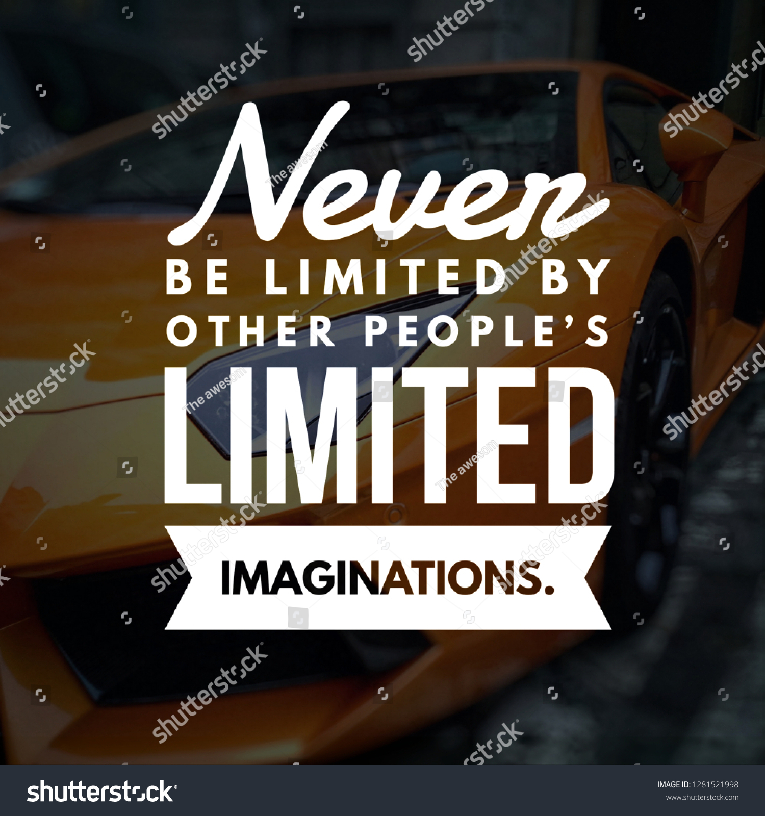 Motivational Quotes Life Stock Photo Edit Now 1281521998