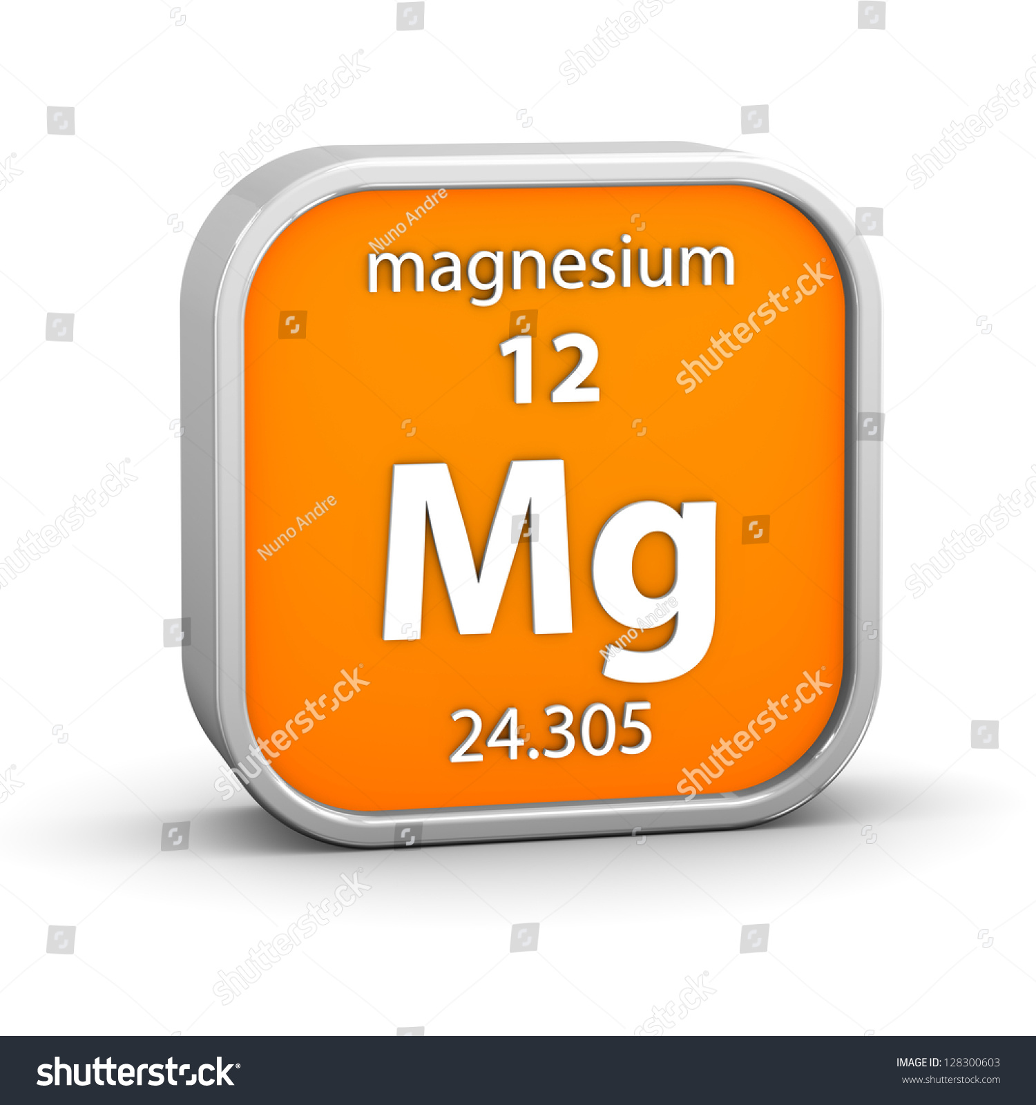 Magnesium material on periodic table part stock illustration magnesium material on the periodic table part of a series gamestrikefo Gallery