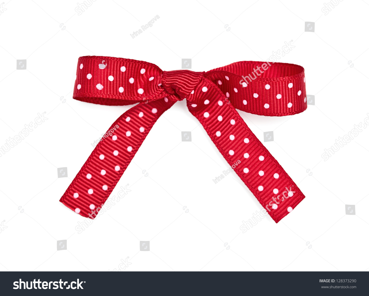 dotted red ribbon and - photo #30