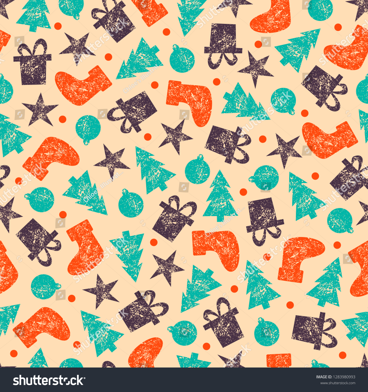 stock-vector-xmas-vector-wrapping-paper-