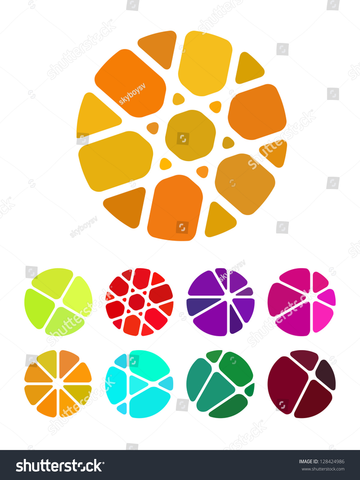 Edit Vectors Free Online Design Round Shutterstock Editor