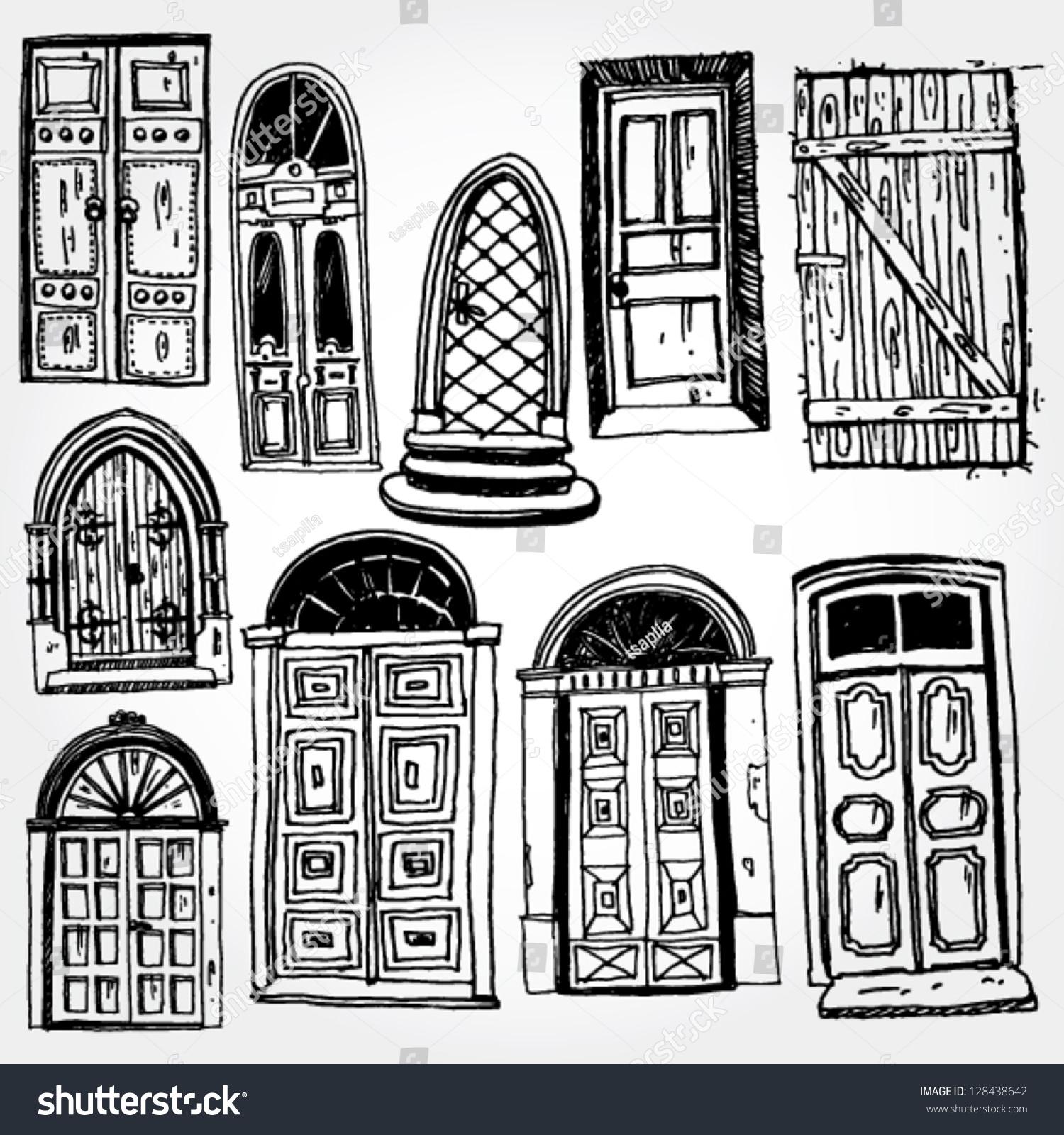 old door clipart - photo #4